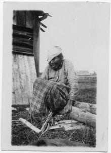 Old woman, Kispiox, B.C.