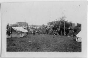 Camp and fish shed