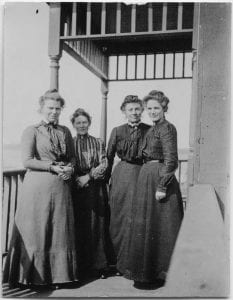 Staff of the Crosby Girls' Home, 1902-1903
