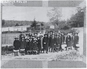 Crosby Girls' Home pupils, Port Simpson, B.C.