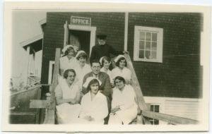 Staff of the Port Simpson Hospital