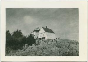 Ivory Island lighthouse, B.C.