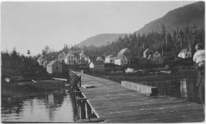 [Bella Bella Indian village, B.C.]