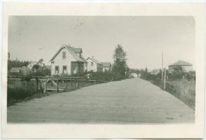 Main Street in Bella Bella