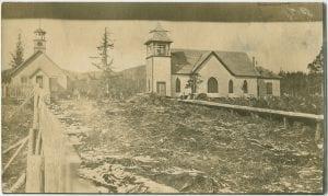 Bella Bella church and school
