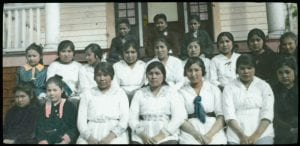Girls of the W.M.S. Indian Home
