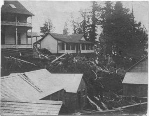 Methodist mission house, Rivers Inlet