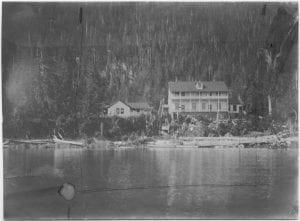 Hospital at Rivers Inlet, B.C.