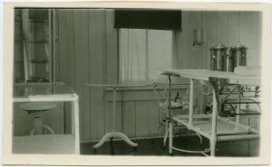 Operating room, Rivers Inlet Hospital