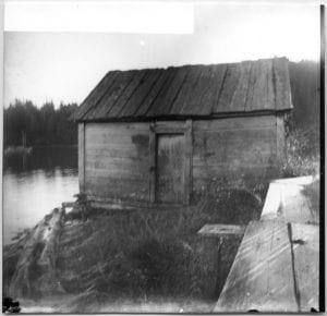 First school house, Bella Bella, B.C.