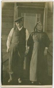 Tom Humchitt, Bella Bella Chief, and his wife