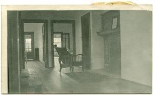 Hall in the Bella Bella hospital