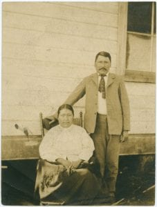 James Starr and his wife, Bella Bella