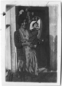 [Indian mother and child, Rivers Inlet]