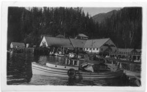 Wharf and cannery at Wadham's