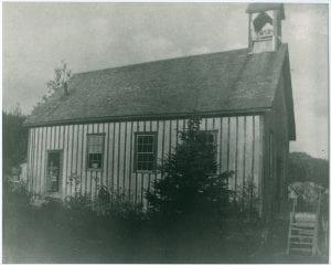 School house in old Bella Bella