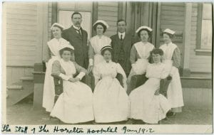 Staff of Hazelton Hospital