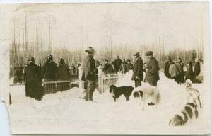 Funeral at Indian Village, Hazelton, B.C.