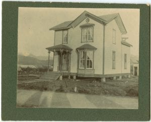 Indian residence at Port Simpson, B.C.: built by the owner himself