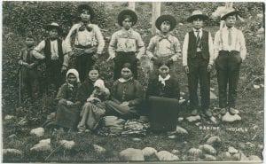 Young Babine Indians