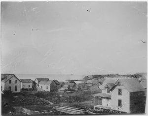 View of Port Simpson looking westward