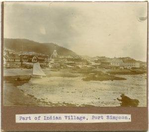 Part of Indian village, Port Simpson