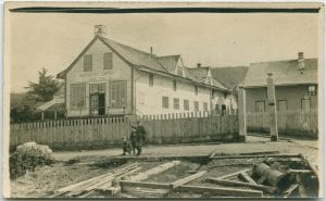 Hudson's Bay Co. Store and manager's house, Port Simpson