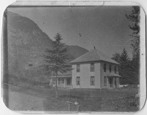 Bella Coola mission house