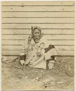 Haida woman
