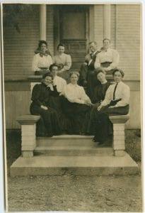 Staff of Coqualeetza Industrial Institute
