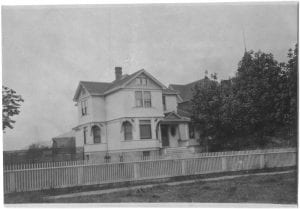 Principal's residence, completed in 1906, Coqualeetza