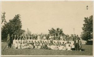 Pupils and staff, Coqualeetza