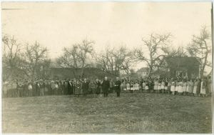 Planting trees at the Coqualeetza Residential School