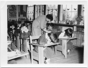 [Alberni Indian Residential School, K.P. class]