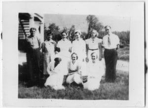 [Dr. J. Douglas Galbraith and staff, Bella Coola Hospital]