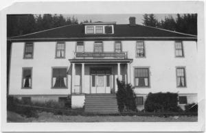 [Women's Missionary Society's Home at Kitamaat]
