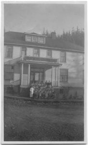 Elizabeth Long Memorial Home, Kitamaat mission: staff and pupils