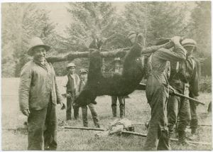 [Returning from hunting, Bella Coola]