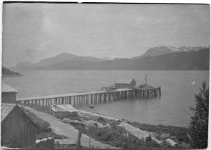 Steamer passage on the way out, Kitamaat
