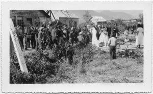 Indian wedding party, Kitamaat
