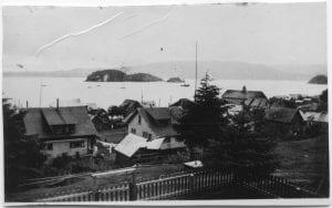 Haida village of Skidegate, Queen Charlotte Islands