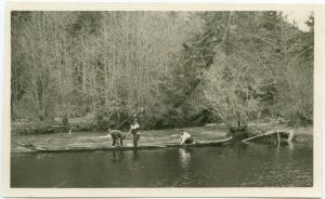 [Fishing on a river]