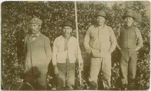 Four Nitinat-Cloose chiefs