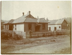 First mission house at Duncan