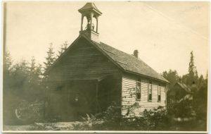 First nation mission school church