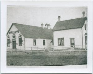 Hospital and nurses' residence