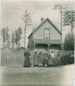 First school at Koksilah