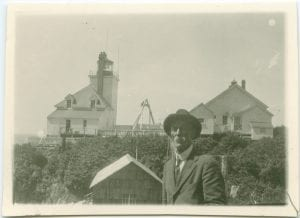 Egg Island Lighthouse and Dr. Spencer