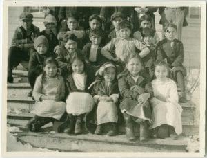 Junior pupils, Hartley Bay Indian day school