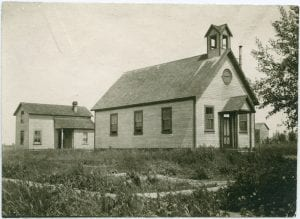 Mission church and mission house
